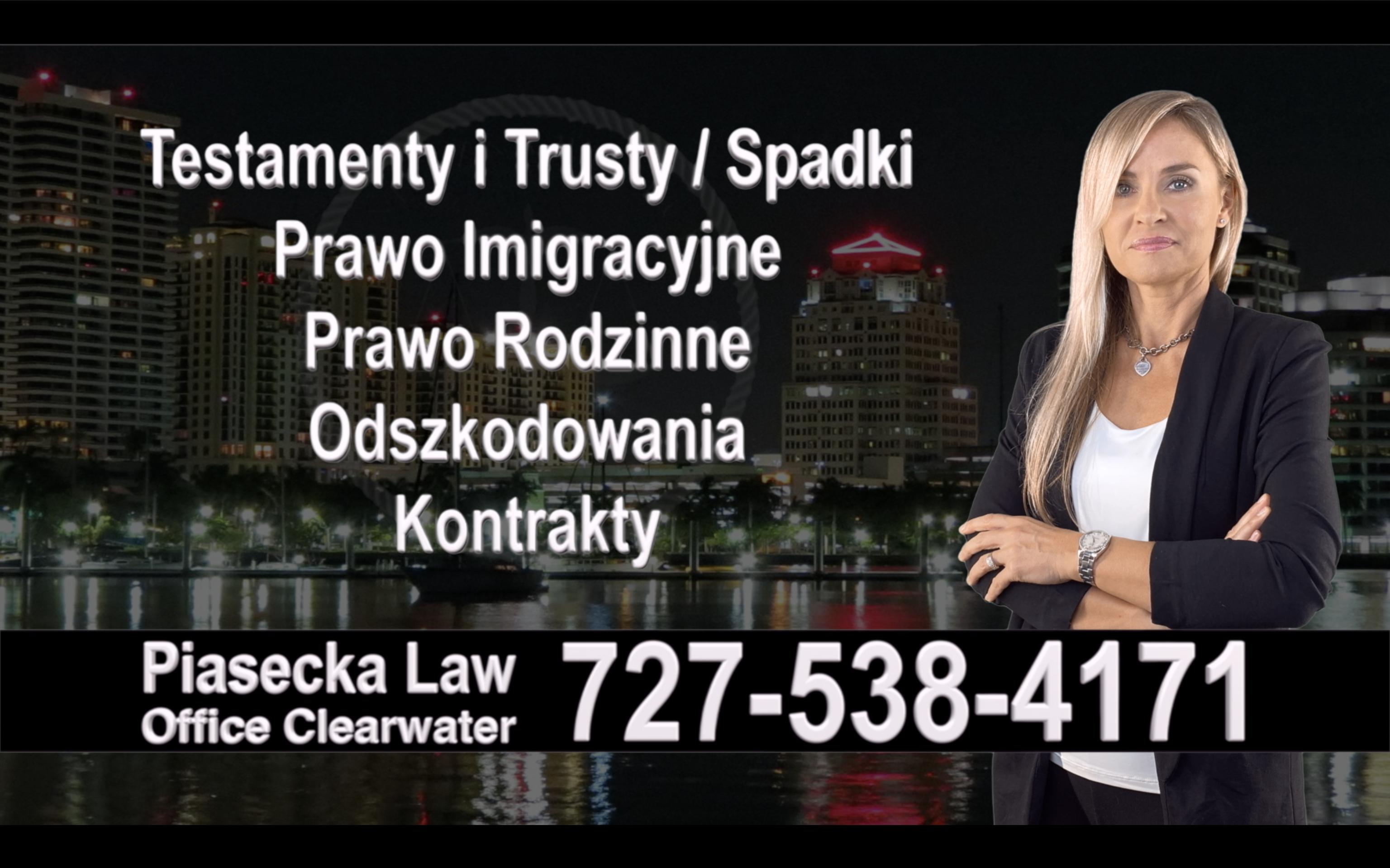 Polski, Prawnik, Tampa, adwokat, polish, lawyer, attorney, florida, polscy, prawnicy, adwokaci, Testament, Trust, wypadek