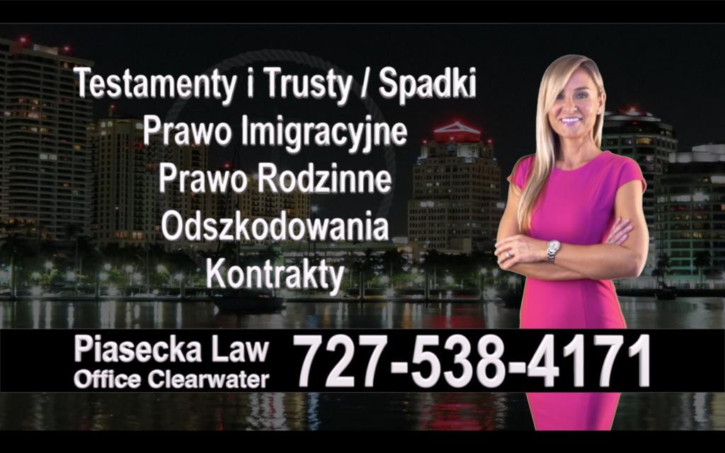 Apollo Beach Polski, Prawnik, adwokat, polish, lawyer, attorney, florida, polscy, prawnicy, adwokaci, Testament, Trust, wypadek
