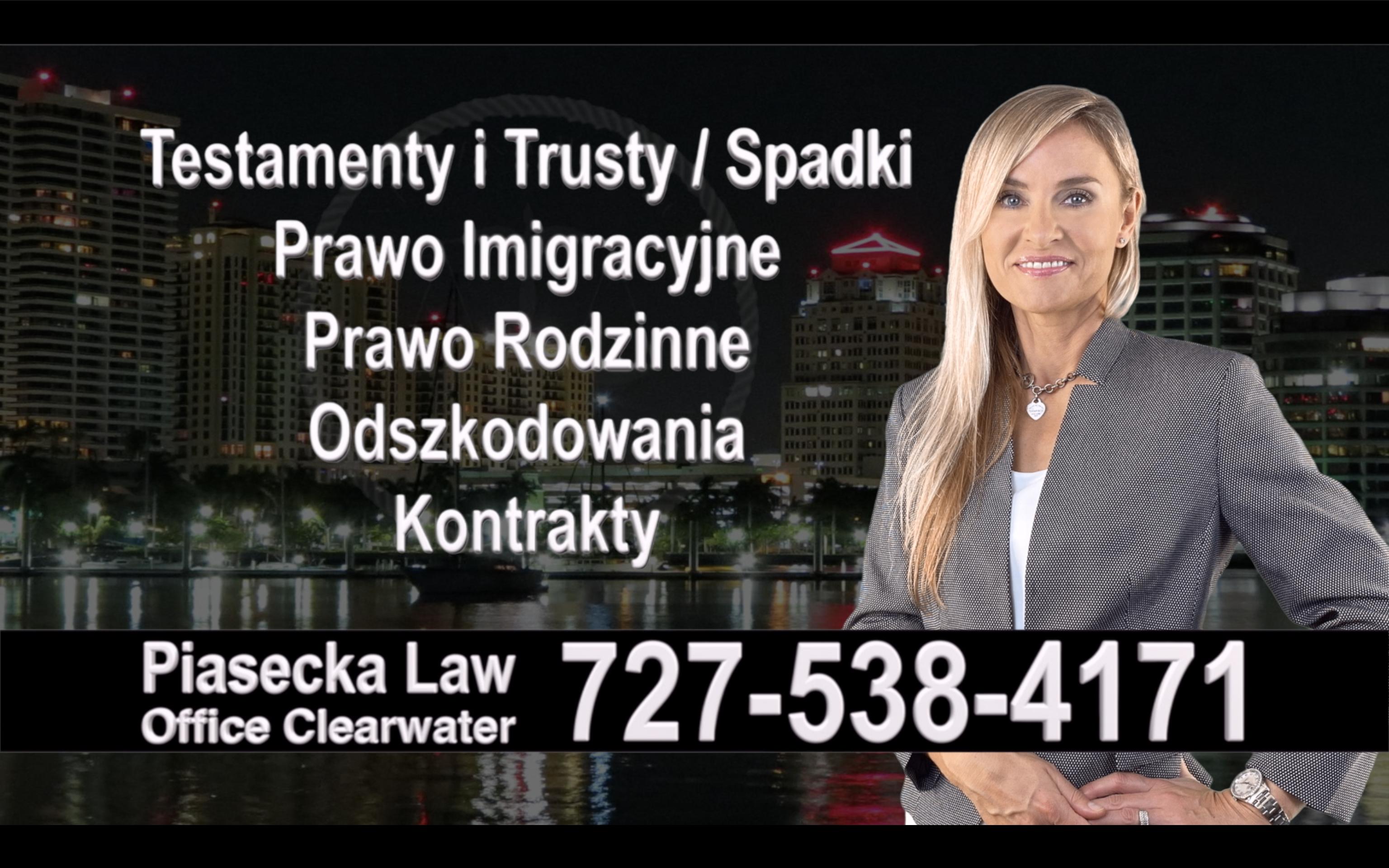 Ruskin Polski, Prawnik, adwokat, polish, lawyer, attorney, florida, polscy, prawnicy, adwokaci, Testament, Trust, wypadek
